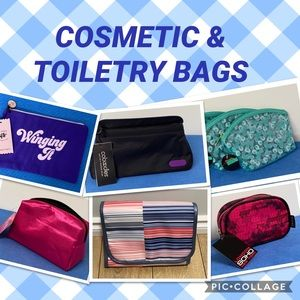 Other - Cosmetic Pouches, Toiletry Bags